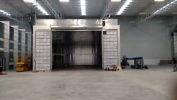 TRUCK PAINT SPRAY BOOTHCROSS DRAFT 40 WIDE x 25 TALL x 55 LONG