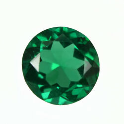 Certified 1.00 Ct Zambia Natural Emerald Round 6.74 Mm Loose Gemstone 211_video