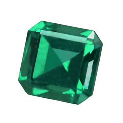 Certified 1.34ct Zambia Natural Emerald Oval 6.5 X 6.5 Loose Gemstone 253_video