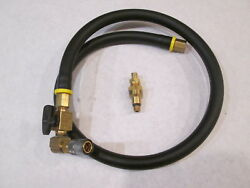 772267 0772267 Omc Gearcase Oil Filler Replacement Hose And Quick Disconnect Tip