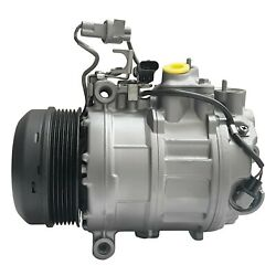 RYC Remanufactured AC Compressor and A/C Clutch AIG306 Without Rear A/C