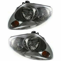 New Set Of 2 Lh And Rh Side Hid Headlamp Assembly Fits 2003-2004 Infiniti G35