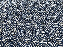 Travers Geometric Tiled Upholstery Fabric- Beaufort / Ink 0.60 Yd 44096-589