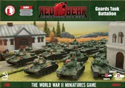 Battlefront FoW WWII Soviet 15mm Guards Tank Battalion - Red Bear Box SW