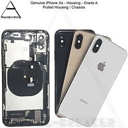 Genuine Apple Iphone Xs And Xs Max Rear Back Chassis Housing With Parts Grade A