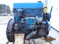 Ford / Newholland 220 Engine Complete Fordson Major Diesel Fmd Running Core