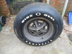 1969-70 Camaro Chevy Chevelle Factory New Old Stock Tire And Rim