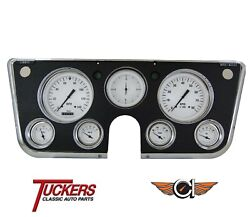 1967 68 69 70 71 72 Chevy C10 Truck Gauges Classic Instruments Ct67wh White Hot