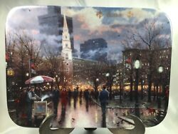 Thomas Kinkade 1994 Boston Postcards Images from Kinkade Collector Plate