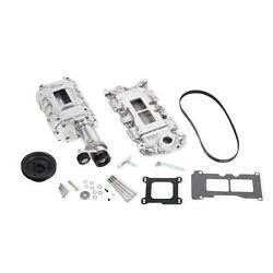Weiand 6508-1 Chevy Small Block Powercharger Kit Short Nose