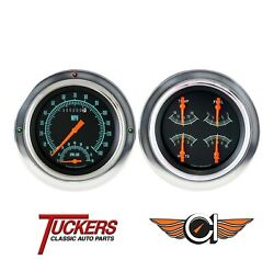 1954-1955 Chevy Gmc Truck 3100 G-stock Gauge Tach Classic Instruments Ct54gs62