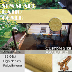 Patio Shade Pergola Cover 90 Uv And Visibility Block Hdpe Mesh By Alion Home