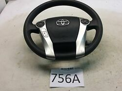 10-15 TOYOTA PRIUS STEERING WHEEL W CRUISE CONTROL SWITCH OEM 756A