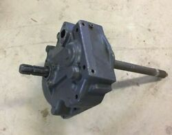 Kubota M108s 540 Pto 35822-79215/36500-80147 Gearbox Assembly With Drive Shaft