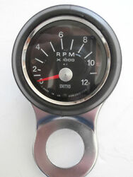 60mm Smiths Tachometer Combination, Tach, Bracket, Rubber Cup