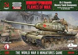 Battlefront FoW WWII Soviet 15mm IS-2 Guards Heavy Tank Company (Plastic Box SW