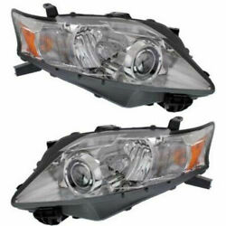 New Set of 2 LH & RH Side HID Head Lamp Assembly Fits 10-13 Lexus RX350