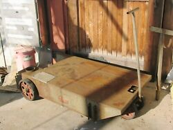Hd Bernard Welding Truck/cart 2710 With Hanger For Wires Boom Or Gas Tanks