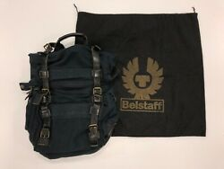 Belstaff 555 Backpack Black, Very Very Rare And Discontinued Back Pack Bag