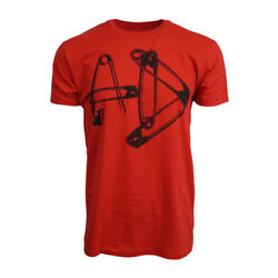 ABBEY DAWN MENS PINS RED T SHIRT