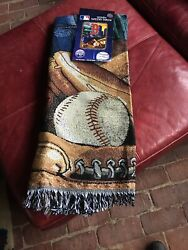 Boston Red Sox Heavyweight Blanket Tapestry Throw The Northwest Co - Authentic