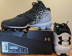 Under Armour Leadoff Mid Rm Baseball Cleats Youth And Adult Sizes