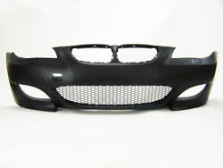 04-07 Bmw E60 5 Series M5 Style Front Bumper Air Duct Type Without Pdc