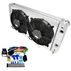 S/t Series Truck Ls Conversion Radiator Shroud Fans And Relay Kitchampion 3 Row