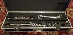 RARE! Buffet Crampon Professional Wood Bass Clarinet Low to C Extended Bell