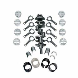 New Scat Rotating Assembly I-beam Rods Fits Ford 302 Main 347 1-94170