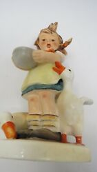 Hummel Gobble Figurines Large Girl With Ducks