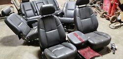 2008 CHEVY Suburban 1500 BLACK  LEATHER AND REAR SEATS W HEAT BUYER PAYS SHIPPN
