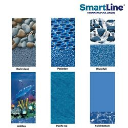 25 Gauge Round Or Oval Overlap Swimming Pool Liner Choose Pattern And Size