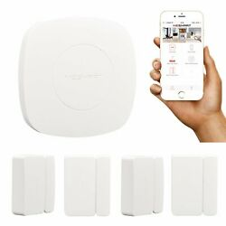 MESMART Home Automation Kit Smart Hub+4pcs Door Sensors Privacy Protector