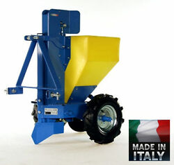 POTATO PLANTER Automatic - 3 Pt Hitch Mounted - Digs Plants & Fills in Behind