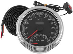 Biker's Choice Cable Drvn Elec Speedo/tach 169350 Electrical Instruments
