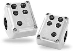 Performance Machine Pm Can Bus Switch Housing Set 0062-2078-ch Control Hand Cont