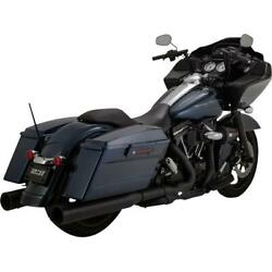 Vance And Hines Destroyer Os 450 S/o Blk/blk 46553 Exhaust Mufflers / Slip-ons