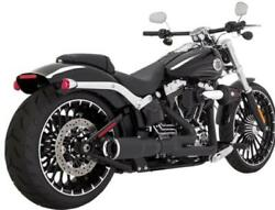 Vance And Hines Hi-output Short 21 Blk 46545 Exhaust Complete