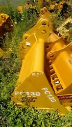 New Sec 68 Pc120 130 Grading Ditching Clean Out Bucket 60 Mm Pins