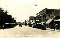 New Mexico Nm Las Cruces Main St Looking South Real Photo Postcard