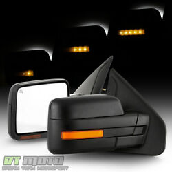 [sequential Led Signal] 2004-2006 Ford F150 Power Heated Side Mirrors Left+right