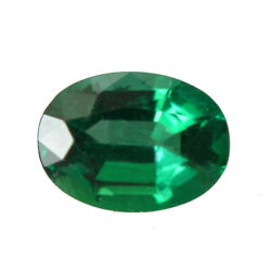 0.68 Ct Zambia Natural Emerald Oval 7 X 5 Mm Loose Gemstone 785_video