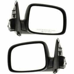 New Set Of 2 Lh And Rh Side Non Heated Power Mirror Fits Colorado Canyon I-280