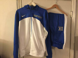 Rare Kentucky Wildcats Nike Therma-fit Basketball Team Issued Warm Ups Ulis