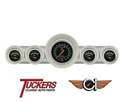 1959-60 Chevy Impala G-stock Full-size Tach Gauges Classic Instruments Ch59gs65
