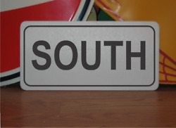 South Metal Sign Highway Street Road Design Airport Runway Free Shipping
