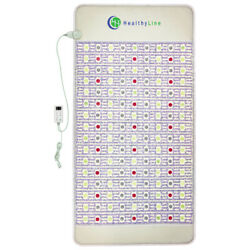 Infrared Heating Pad Pemf Bio Therapy Mat With Amethyst - Healthyline 80 X 40