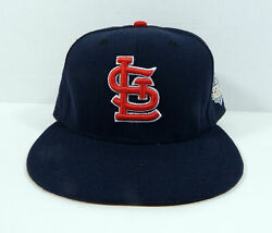 2013 St. Louis Cardinals New Era Navy World Series 59fifty Fitted Hat
