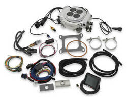 Holley 550-510 Sniper Efi Fuel Injection Conversion Kit Fits All V8and039s Polished
